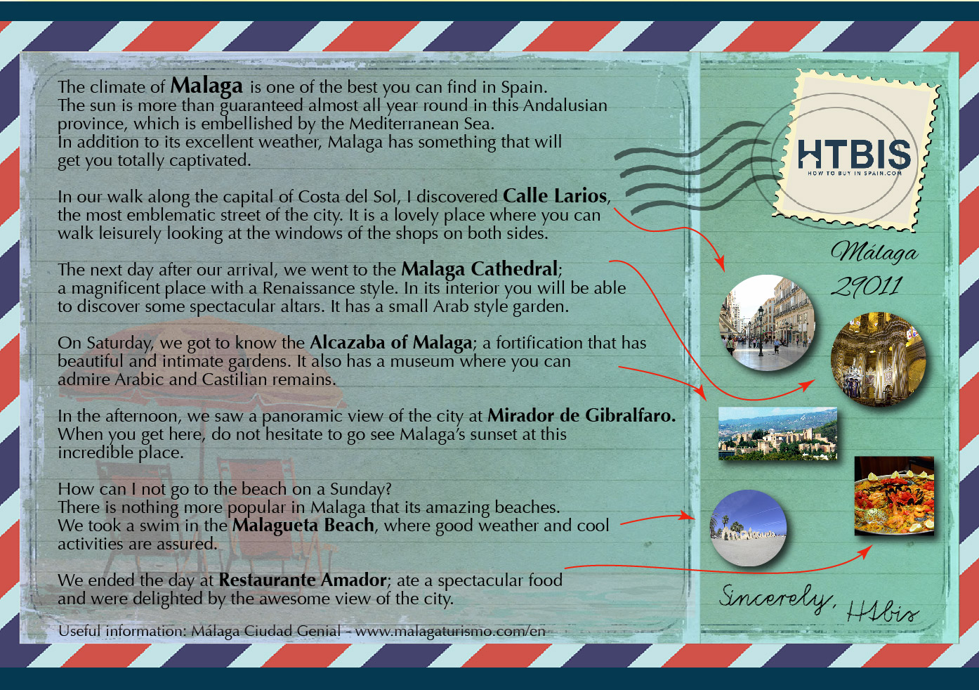 Malaga ePostcard Citytrip
