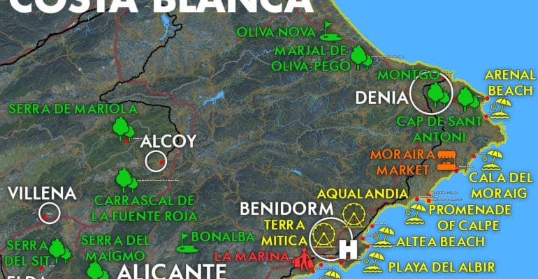 Everything you ever wanted to know about the Costa Blanca How to