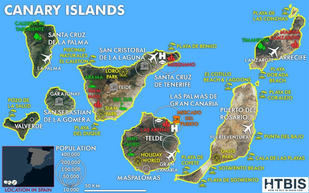 Canary Islands must see places