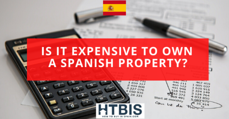 Cost of owning a Spanish property