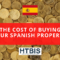 Cost of Buying your Spanish property