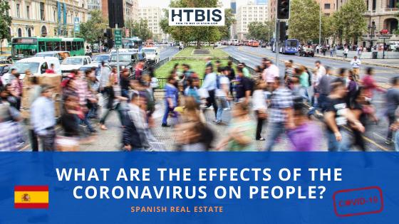 Effects of Coronavirus on people