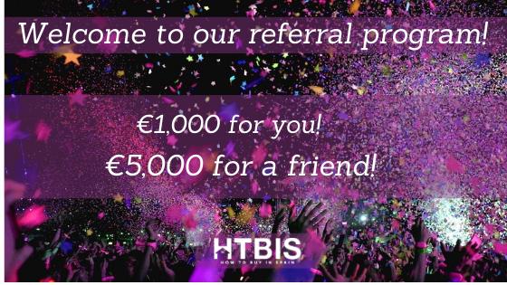 Referral program of HTBIS