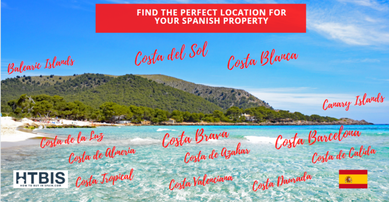 Find the perfect location for your Spanish property